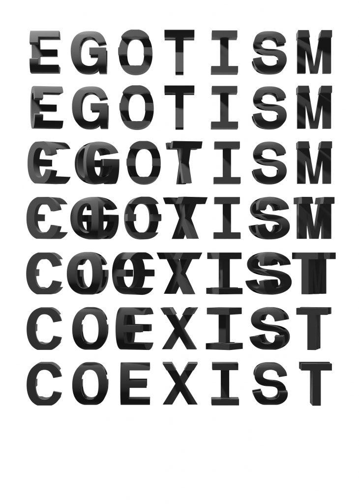 EGOTISM - COEXIST