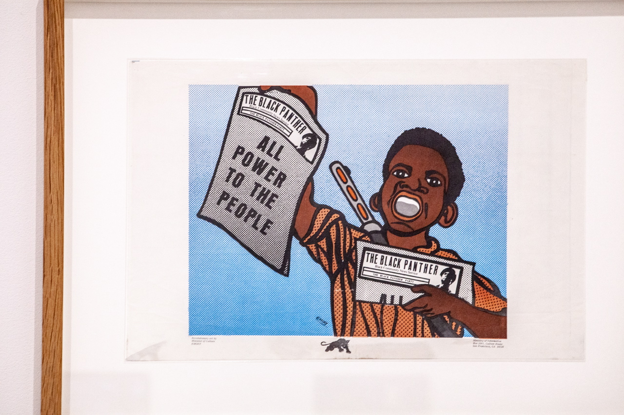 All Power to the People   Emory Douglas:Black Panther Party:Center for the Study of Political Graphics