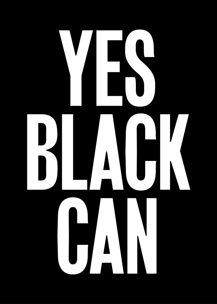 YES BLACK CAN