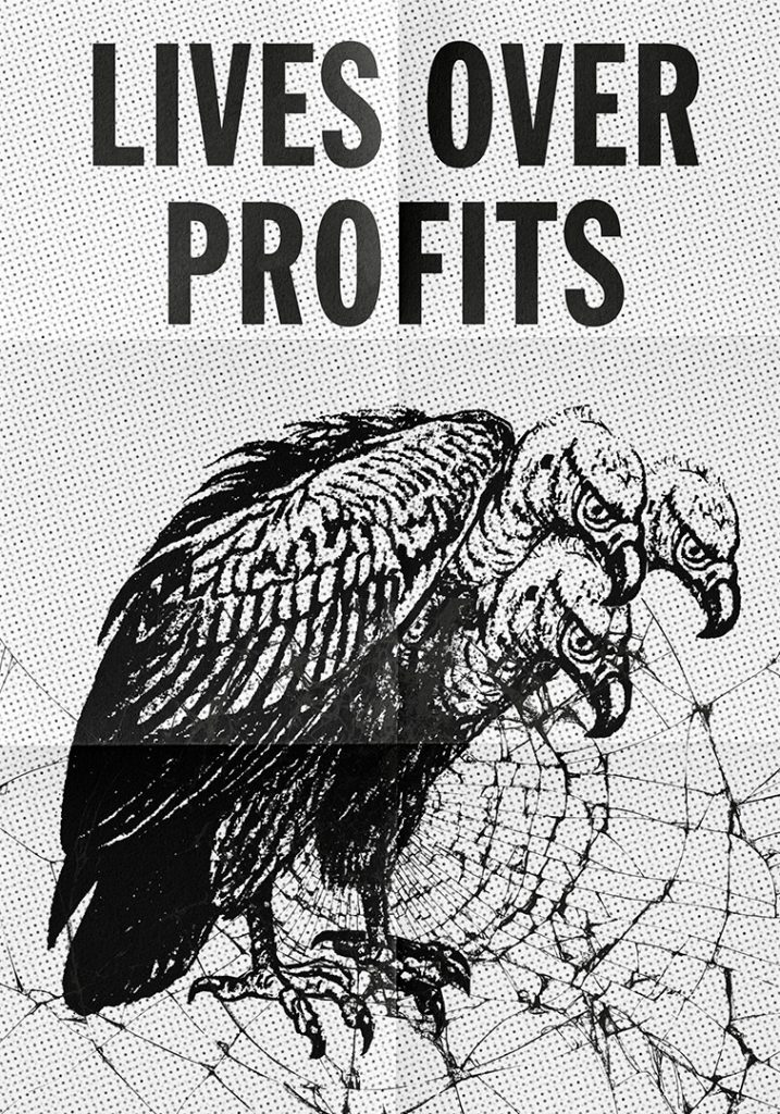 Coexist: Lives vs Profits