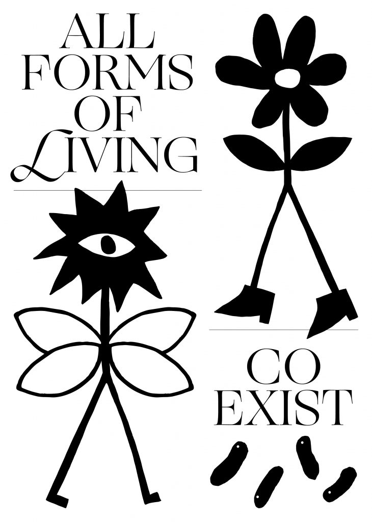 All forms of living