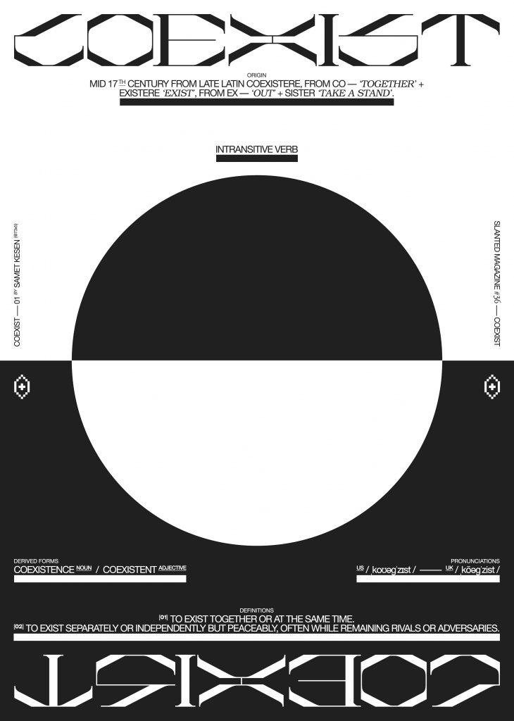 Coexist –– 01