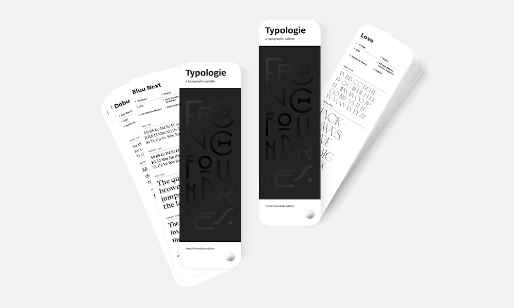 Typologie, a Typographic Palette