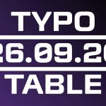 Typotable No. 7