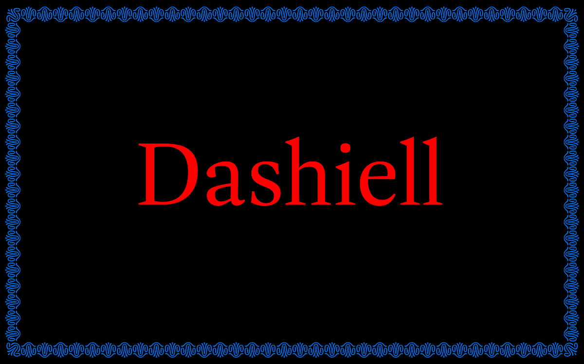 Typeface of the Month: Dashiell