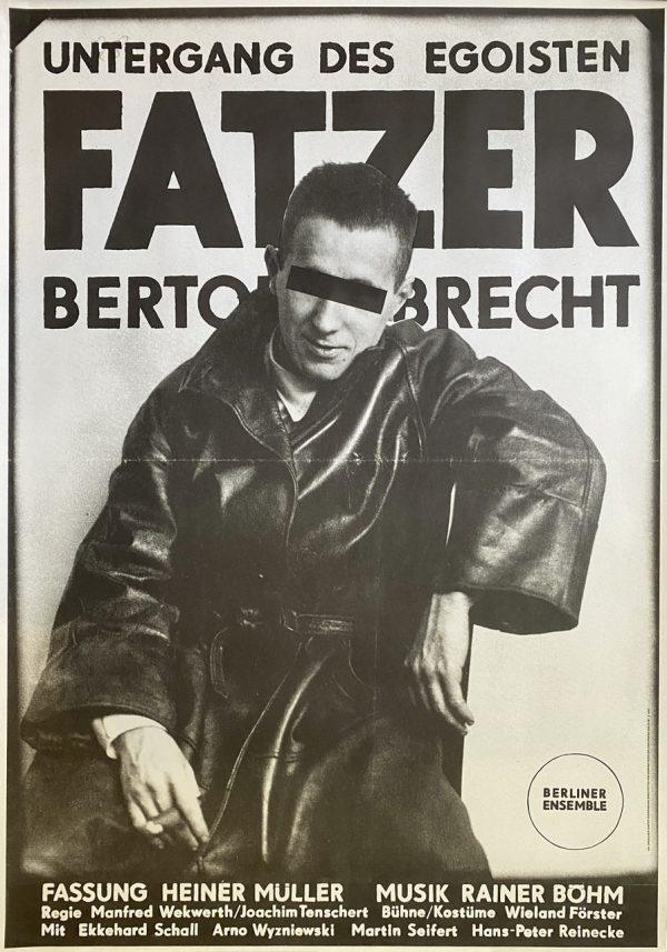 """Original Poster """"Brecht"""""""