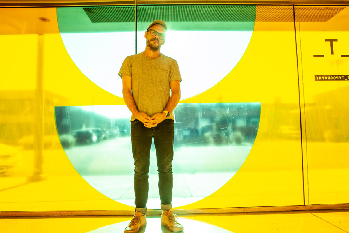 Slanted in L.A.: Jens Gelhaar