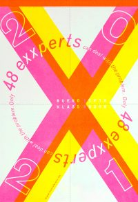 '48 exxperts' limited riso calendar 2021