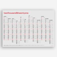 twothousand&twentyone–Wall Calendar 2021