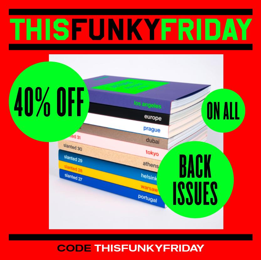 Slanted Black Friday Deal