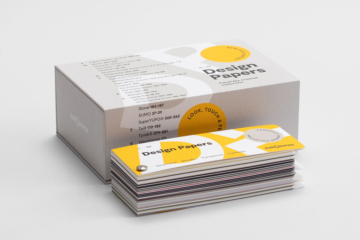 Lottery: Freshly Printed Paper Swatch by Europaper