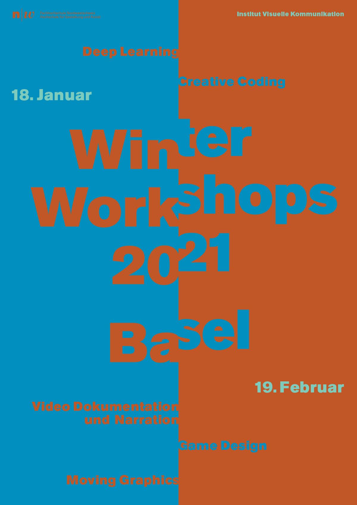 Winter Workshops 2021