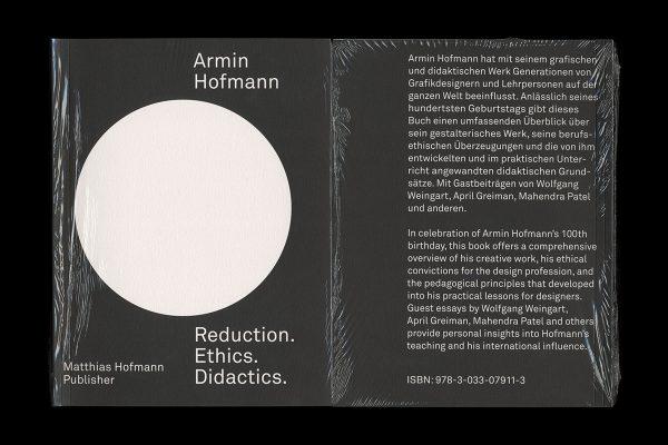 Armin Hofmann—Reduction. Ethics. Didactics.