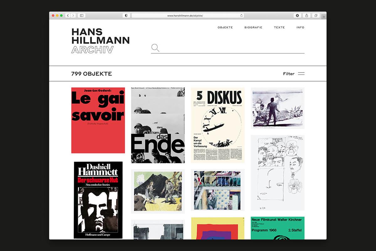 Hans Hillmann Online Archive