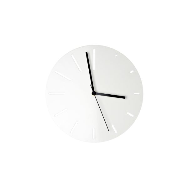 "Wall Clock ""Poggenklas"" – white"