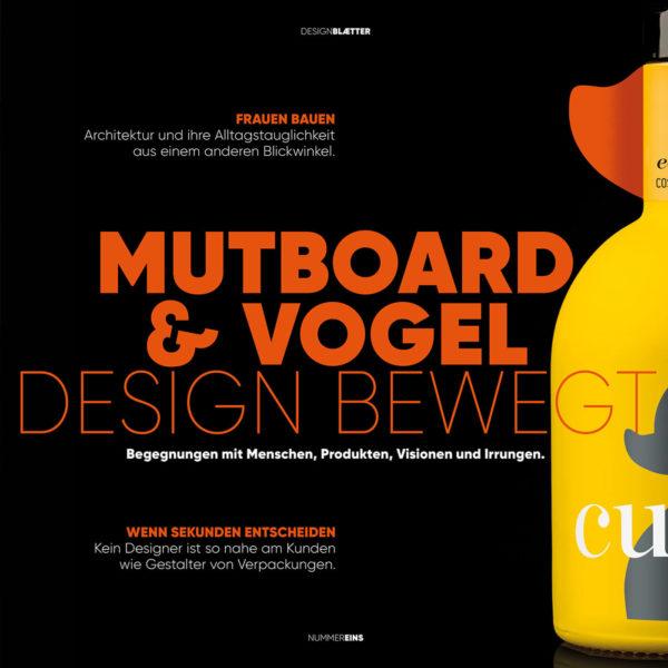 Designmagazine MUTBOARD & VOGEL #1