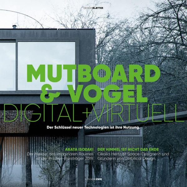 Designmagazine MUTBOARD & VOGEL #2