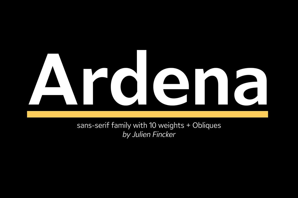 Ardena Font Family