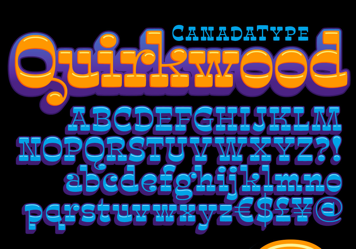 Quirkwood — By Robby Woodard and Canadatype