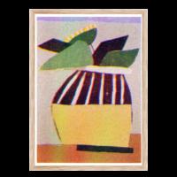 Artprint Uwasu Vase | Risograph Art Print