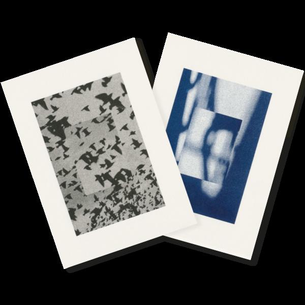 Licht & Schatten | Light–Shadow | 2 Risograph Postcards
