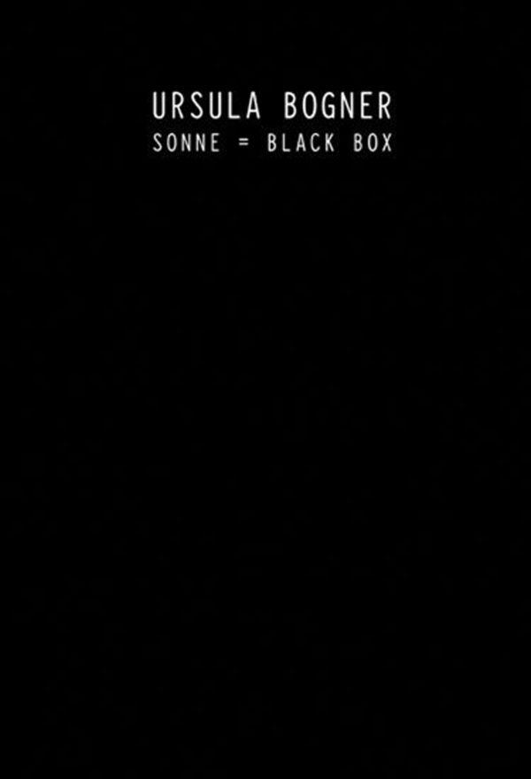 Ursula Bogner – Sonne = Black Box [Box set: book & CD]