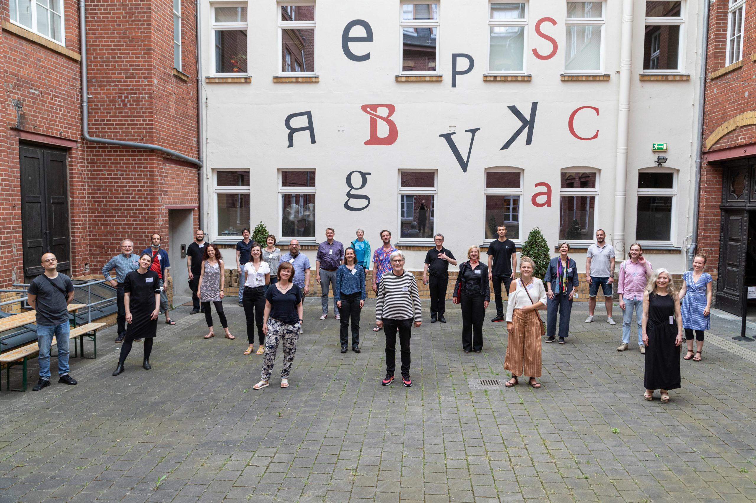 Die Teilnehmenden der 26. Leipziger Typotage