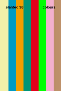 Slanted Magazine #38–Colours Cover